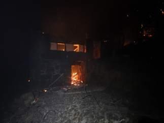 Incendio en As Neves