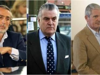 Francisco Correa, Luis Bárcenas y Pablo Crespo, acusados por Gürtel
