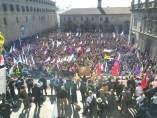 Manifestación Santiago de Compostela