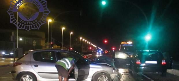 Accidente en el camino Serradal de Castellón