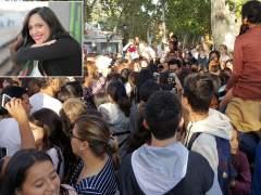 La 'youtuber' SandraCiresArt, víctima de un tumulto en el parque del Retiro