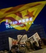 Protesta en Madrid contra el 155