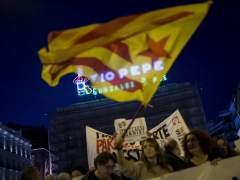 """Rechazo en Madrid al 155 por su """"tinte dictatorial"""""""