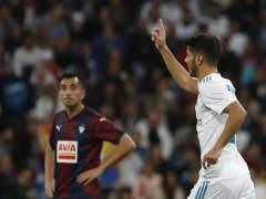 El Real Madrid logra ante el Eibar su primera victoria plácida