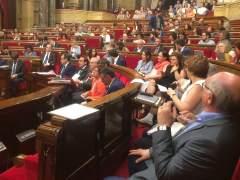 El Parlament aborda cuándo y cómo afrontar el 155 y la independencia