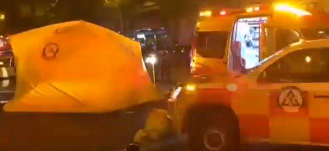 Hombre atropellado en Madrid