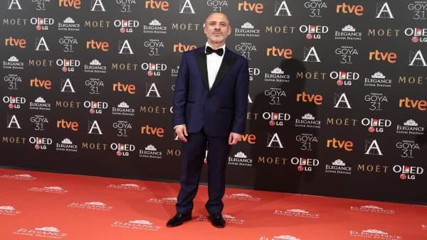 El actor Javier Gutiérrez recibe este martes el premio