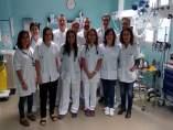 Equipo de investigación del área de urgencias del Hospital Arnau de Vilanova