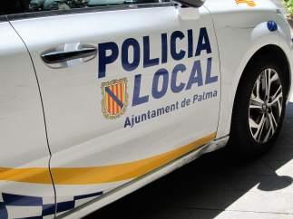 Coche de la Policía Local de Palma