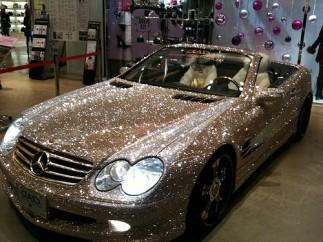 El coche del príncipe saudí Amir
