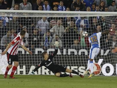 Gol del Leganés al Athletic