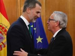 """Juncker: """"Estoy contra todos los separatismos en Europa"""""""