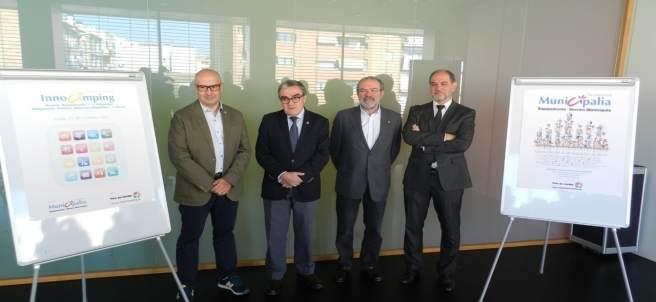 Presentación de Municipalia e Innocamping, con Àngel Ros