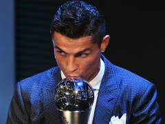 Cristiano Ronaldo gana el Premio The Best al mejor jugador