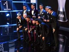 Iniesta y Sergio Ramos, en el 11 ideal de los The Best