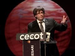 """Puigdemont: """"El Estado español quiere una Cataluña disminuida y humillada"""""""