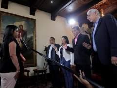 La oposición venezolana se fractura al jurar cuatro de sus gobernadores ante la ANC