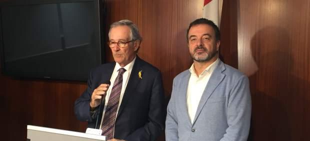 Xavier Trias y Alfred Bosch