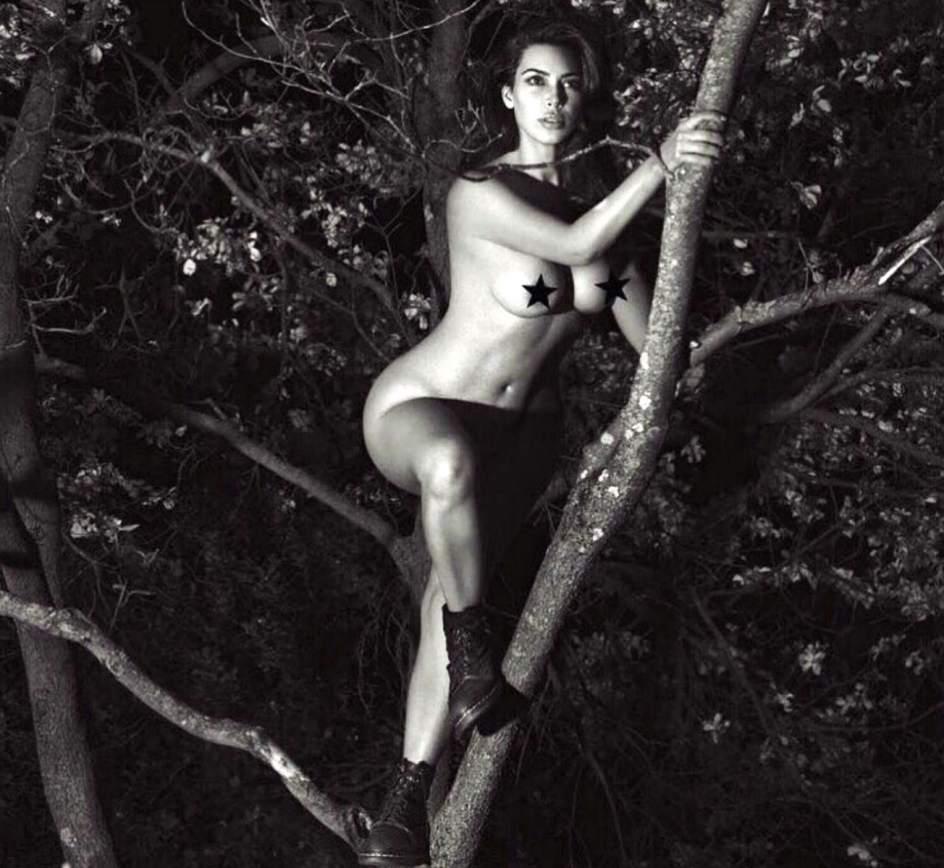 Foto Kim Kardashian Famosos Que Se Desnudaron En Instagram