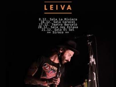 Fin de la gira 'Monstruos' de Leiva.