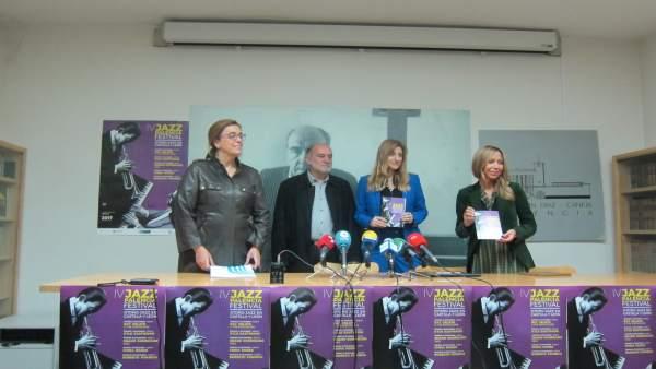 Presentación del Jazz Palencia Festival en Palencia.