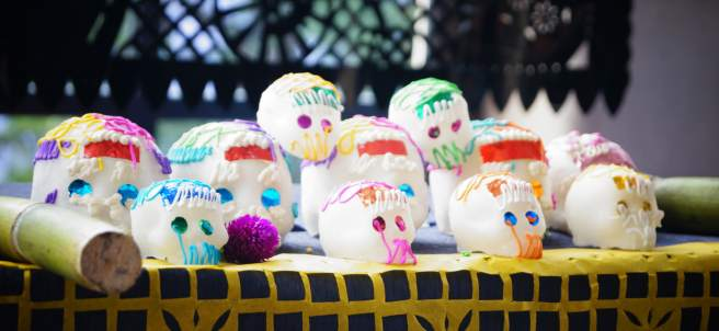 Calaveritas dulces de México