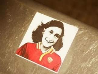 Pegatina de Anna Frank