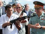 Duterte sopesa un AK-74M