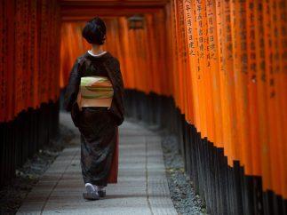 Paseo en el templo