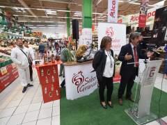La marca Sabor Granada se promociona en el hipermercado Alcampo