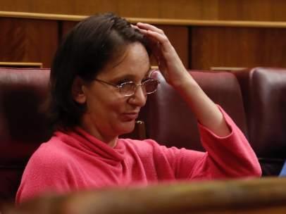 Carolina Bescansa, diputada de Unidos Podemos.