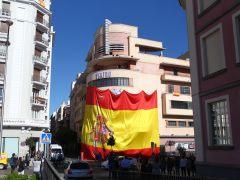 Detenidos en Madrid siete simpatizantes del separatismo por desórdenes públicos