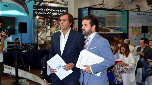 Jacobo Florido y Carlos perez lanzac pte viendas turísticas presidente AVVA