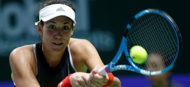 Garbiñe Muguruza en el WTA Finales