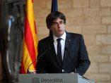 Carles Puigdemont comparece en la Generalitat