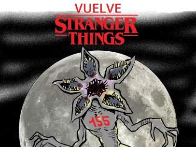Vuelve 'Stranger Things'. La viñeta de Malagón