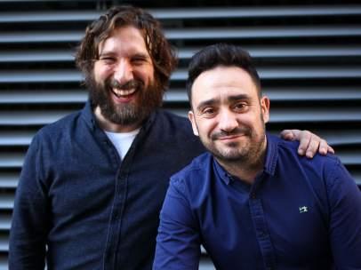 Sergio G. Sánchez y Juan Antonio Bayona