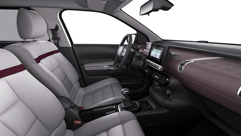 Interior del Citroën C4 Cactus