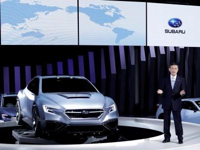 Subaru en el Salón de Tokio