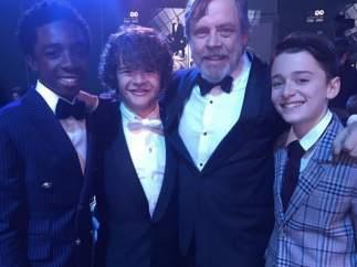 Con Luke Skywalker