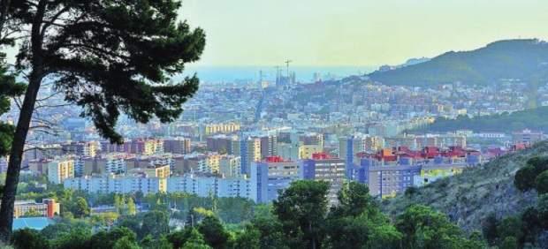 Els nous Plans de Desenvolupament s'extenen per diferents districtes de la ciutat (vista de Barcelona des de Torre Baró).