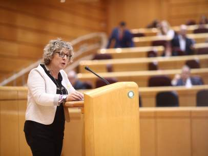 Mireia Cortés en el Senado