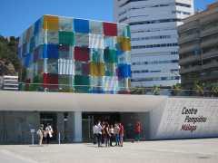 El Pompidou amplía su sede en Málaga hasta 2025