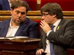 JxCat y ERC pactan apoyar a Puigdemont como presidente de la Generalitat
