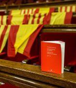 Banderas de España en el Parlament