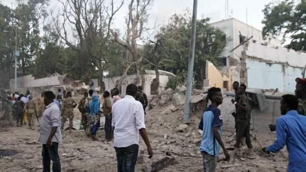 Atentado en Mogadiscio, Somalia