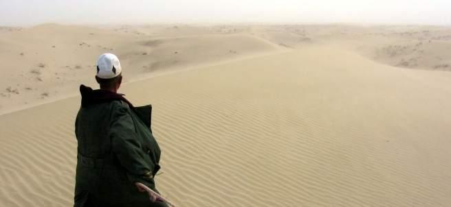 Desierto de Taklimakán, China