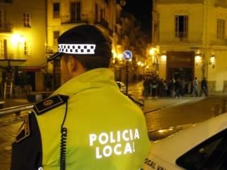 Imagen de recurso de un agente de la Policía Local