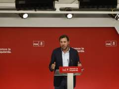 Óscar Puente, portavoz de la Ejecutiva del PSOE, en una imagen de archivo.