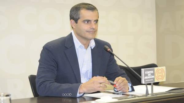 El portavoz adjunto de Cs, Javier Martínez.